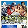 George Reeves, William Fawcett, and Lois Hall in The Adventures of Sir Galahad (1949)