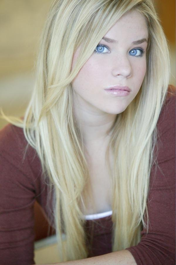 Teen blonde with black hair #11