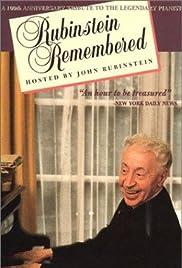 Rubinstein Remembered Poster