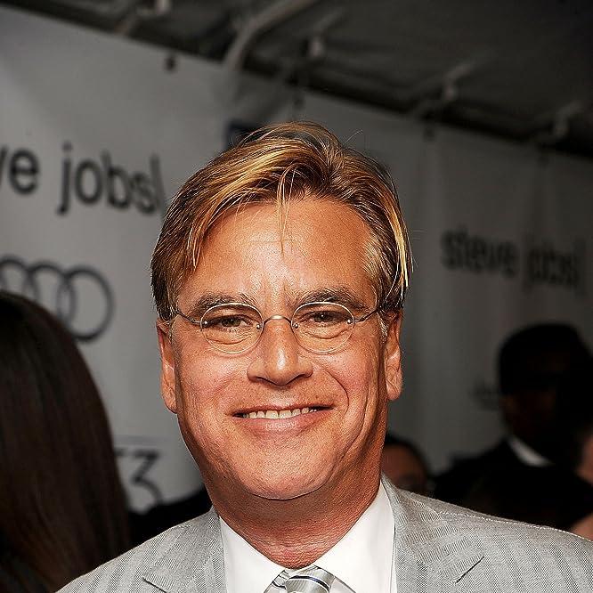 Aaron Sorkin at an event for Steve Jobs (2015)