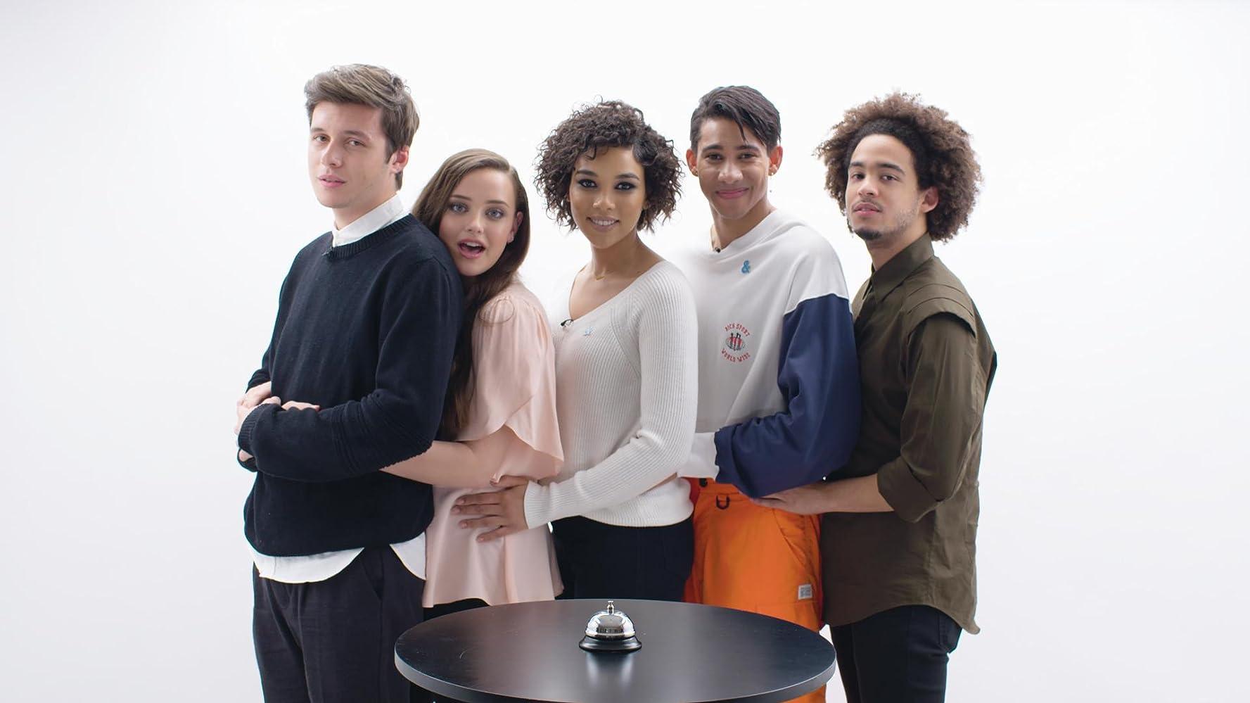 Keiynan Lonsdale, Alexandra Shipp, Nick Robinson, Jorge Lendeborg Jr., and Katherine Langford at an event for Love, Simon (2018)