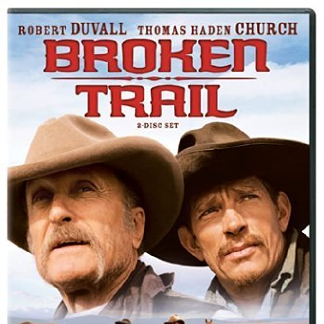 Robert Duvall and Thomas Haden Church in Broken Trail (2006)