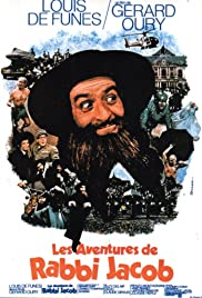 The Mad Adventures of 'Rabbi' Jacob (1973) Poster - Movie Forum, Cast, Reviews