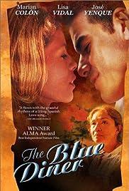 The Blue Diner Poster