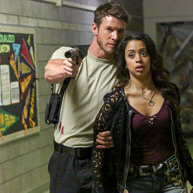 Chad Michael Collins and Liza Koshy in Freakish (2016)