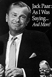 Jack Paar: 'As I Was Saying...' Poster