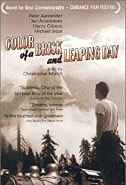Color of a Brisk and Leaping Day Poster
