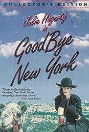 Goodbye, New York Poster