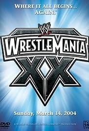 WrestleMania XX Poster