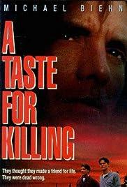 A Taste for Killing Poster