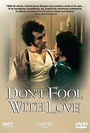 Con el amor no se juega Poster