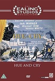 Hue and Cry(1947) Poster - Movie Forum, Cast, Reviews