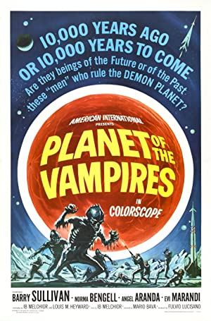 Planet of the Vampires poster