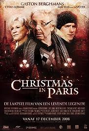 Christmas in Paris Poster