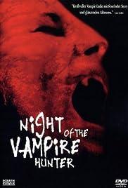 Night of the Vampire Hunter Poster