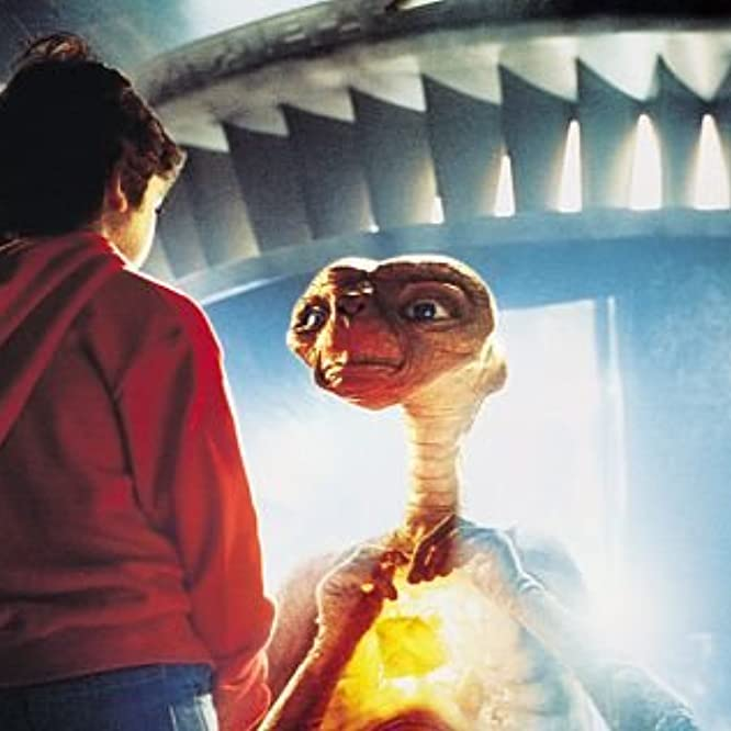 Henry Thomas and Pat Welsh in E.T. the Extra-Terrestrial (1982)