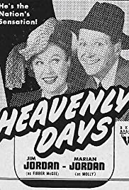 Heavenly Days Poster