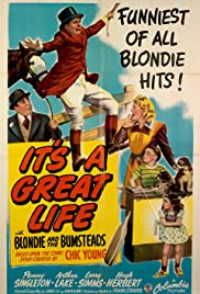 It's a Great Life Poster