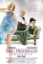 Mrs Henderson Presents Poster