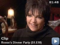 Rocco's Dinner Party: Season 1: Episode 10 -- New York, New York was Liza Minnelli's song and Frank Sinatra always credited her for it.