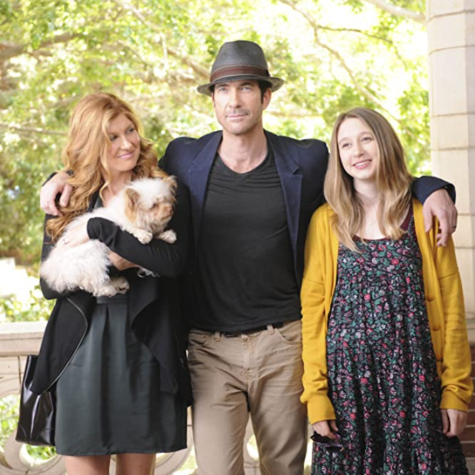 Dylan McDermott, Connie Britton, and Taissa Farmiga in American Horror Story (2011)