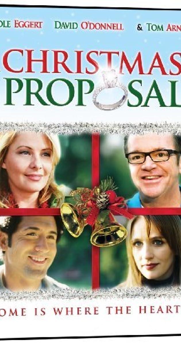 A Christmas Proposal Tv Movie 2008 Imdb
