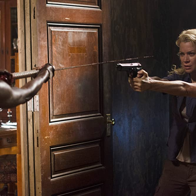 Laurie Holden and Danai Gurira in The Walking Dead (2010)