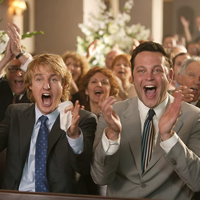 Vince Vaughn and Owen Wilson in Wedding Crashers (2005)
