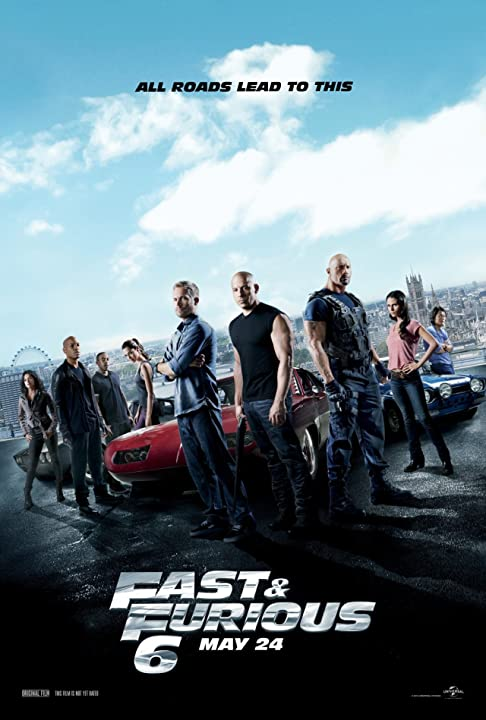 Poster Of Fast & Furious 6 (2013)   Full Movie Hindi Dubbed Free Download Watch Online At movies365.in