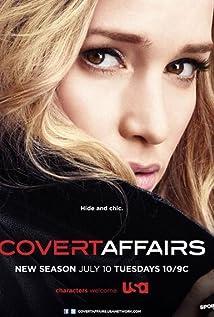 Covert Affairs: Assuntos Confidenciais (2010) Poster