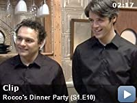 Rocco's Dinner Party: Season 1: Episode 10 -- The chefs get introduced to their wait staff.