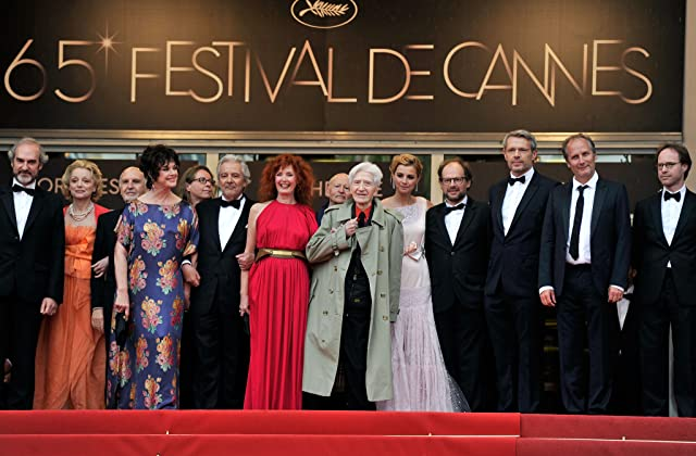 Pierre Arditi, Sabine Azéma, Anne Consigny, Hippolyte Girardot, Alain Resnais and Lambert Wilson at event of You Ain't Seen Nothin' Yet