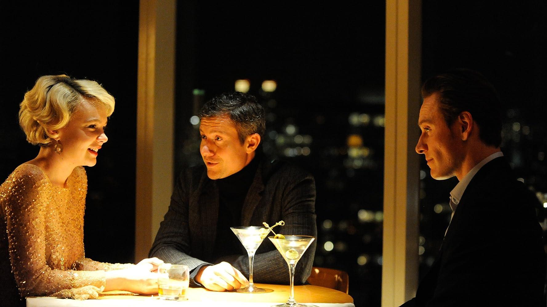 James Badge Dale, Michael Fassbender, and Carey Mulligan in Shame (2011)