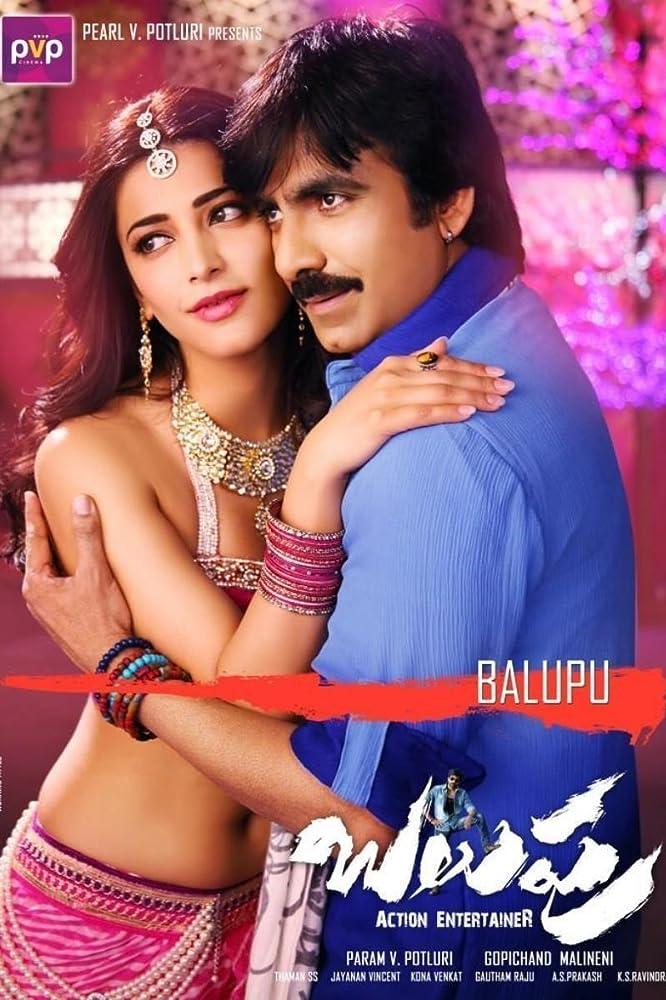 Balupu (2013) Multi Audio 720p BluRay [Tamil + Telugu + Hindi] 1.4GB ESubs