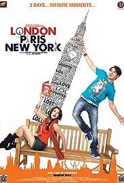 London Paris New York Poster