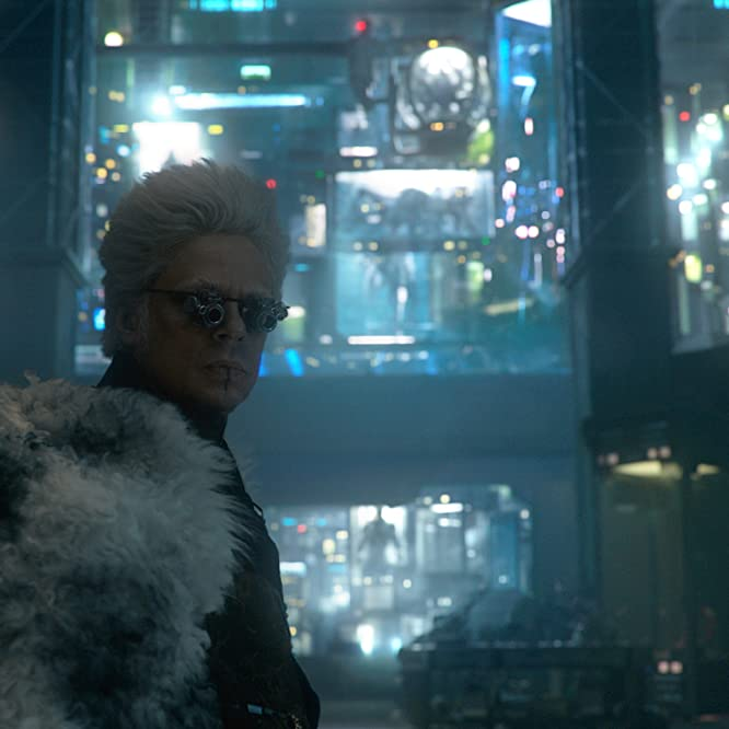 Benicio Del Toro in Guardians of the Galaxy (2014)