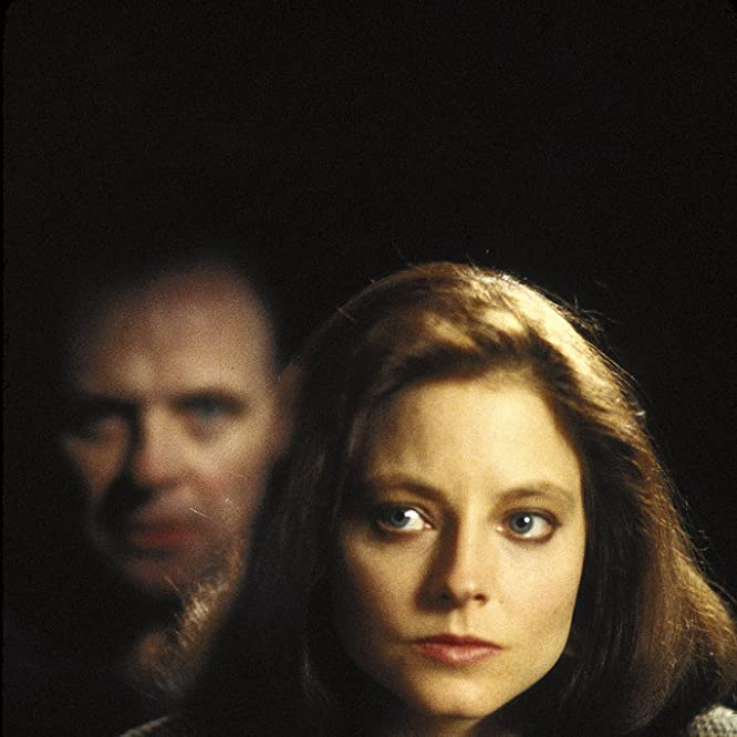 Jodie Foster and Anthony Hopkins in The Silence of the Lambs (1991)