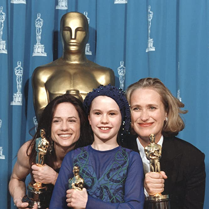 Holly Hunter, Jane Campion, and Anna Paquin at an event for The 66th Annual Academy Awards (1994)