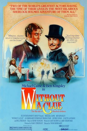 Without a Clue (1988) Latest Movie Dual Audio Hindi 480p BluRay 300mb