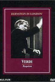 Bernstein in London: Verdi's Requiem Poster