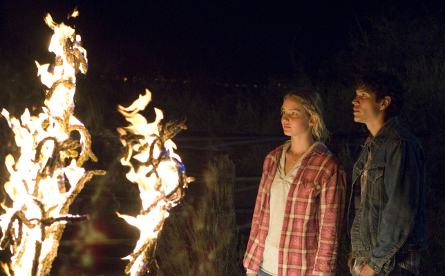 JD Pardo and Jennifer Lawrence in The Burning Plain (2008)