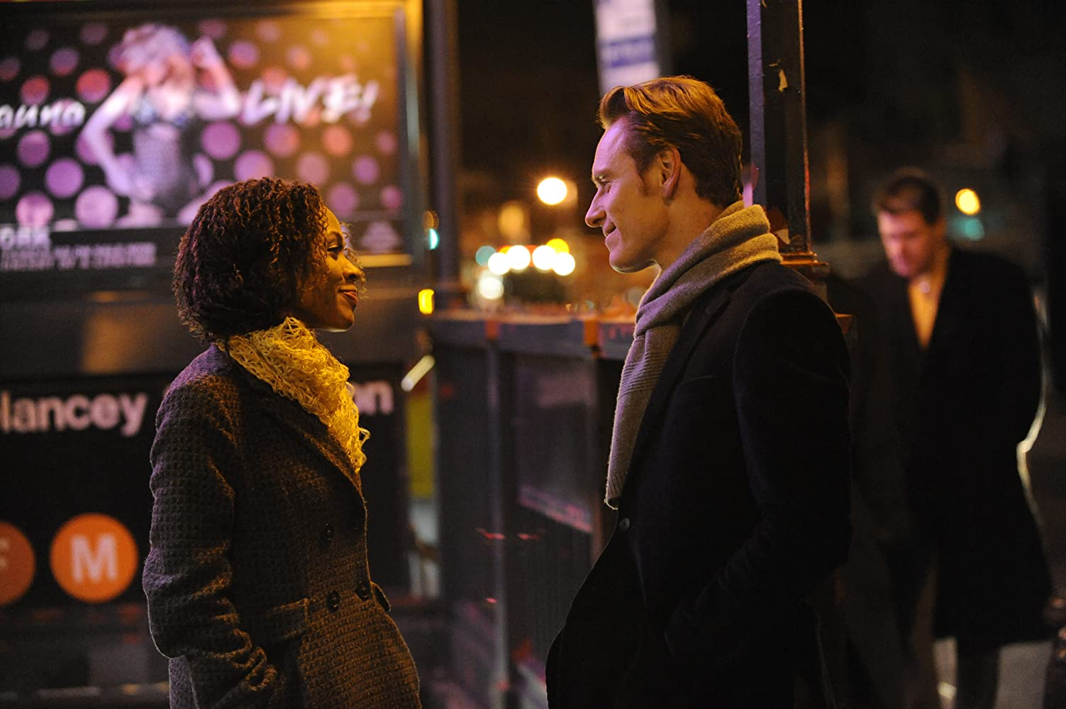 Michael Fassbender and Nicole Beharie in Shame (2011)