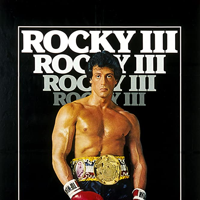 Sylvester Stallone in Rocky III (1982)