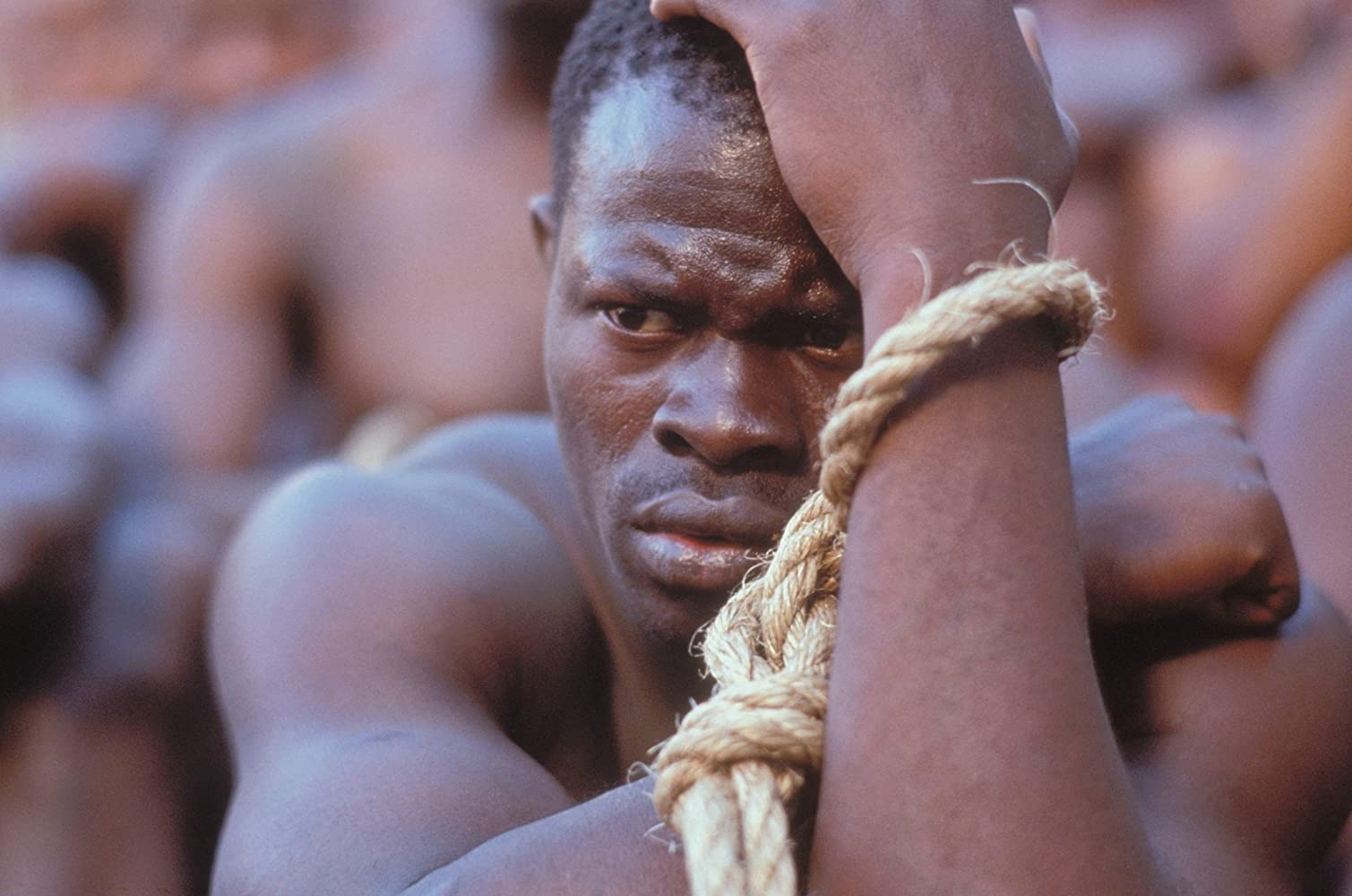 Djimon Hounsou in Amistad (1997)