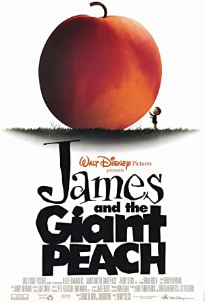 James and the Giant Peach 1996 Movie Poster