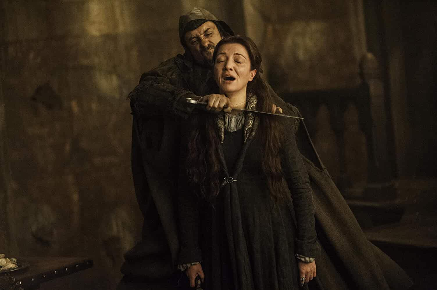 Michelle Fairley and Tim Plester in Game of Thrones (2011)