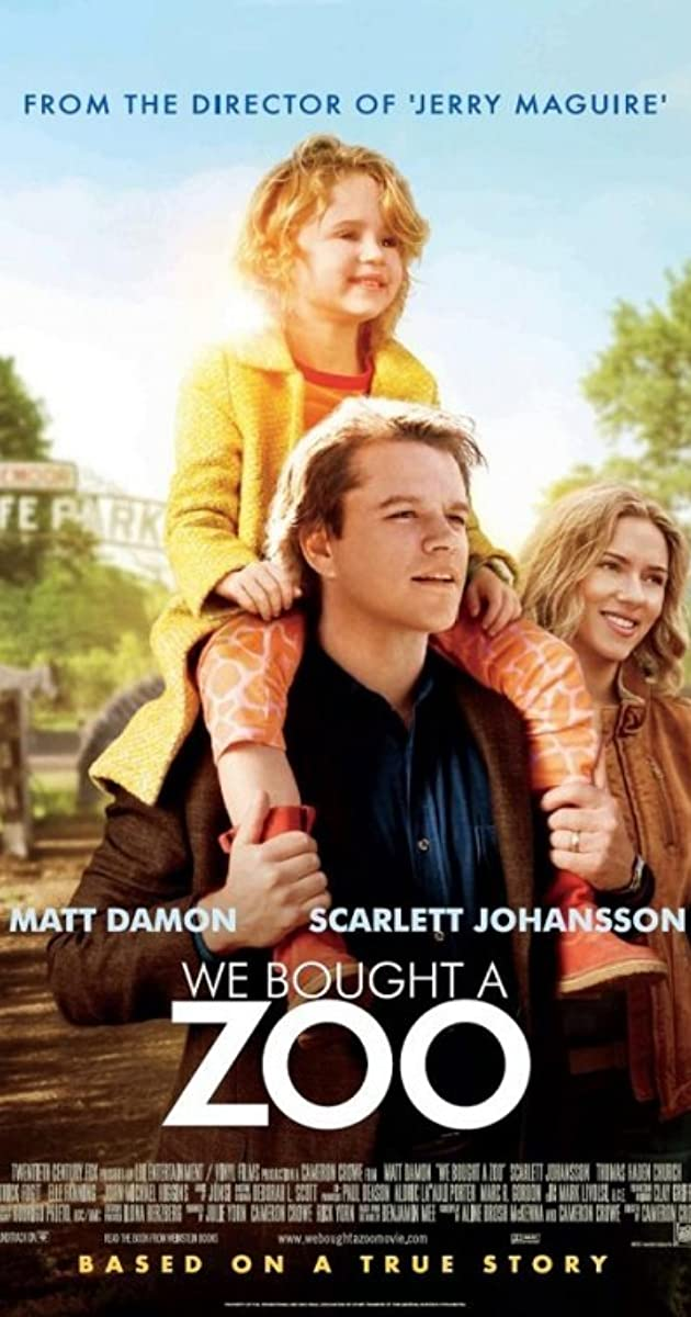 Watch We Bought a Zoo (2011) Online Movie Free GoMovies ...