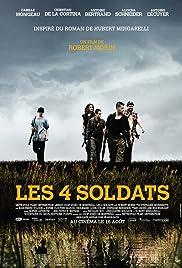 Les 4 soldats Poster