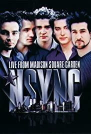 'N Sync: Live from Madison Square Garden Poster