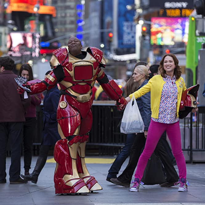 Ellie Kemper and Tituss Burgess in Unbreakable Kimmy Schmidt (2015)